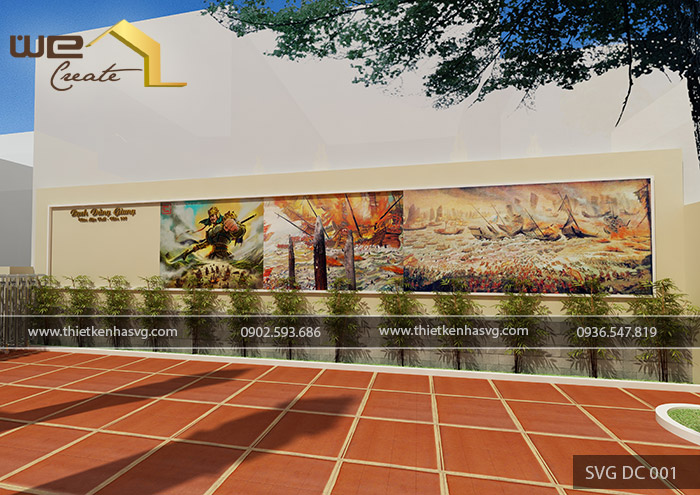 Thiết kế đình chùa Lạc Viên