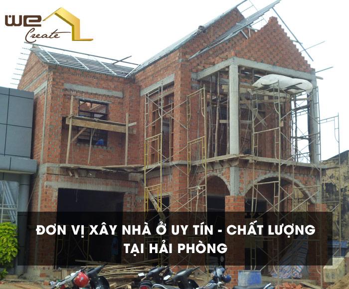 Xay nha o uy tin Hai Phong